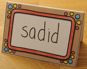 Stellen, CED leerlijnen Maak een naamkaart